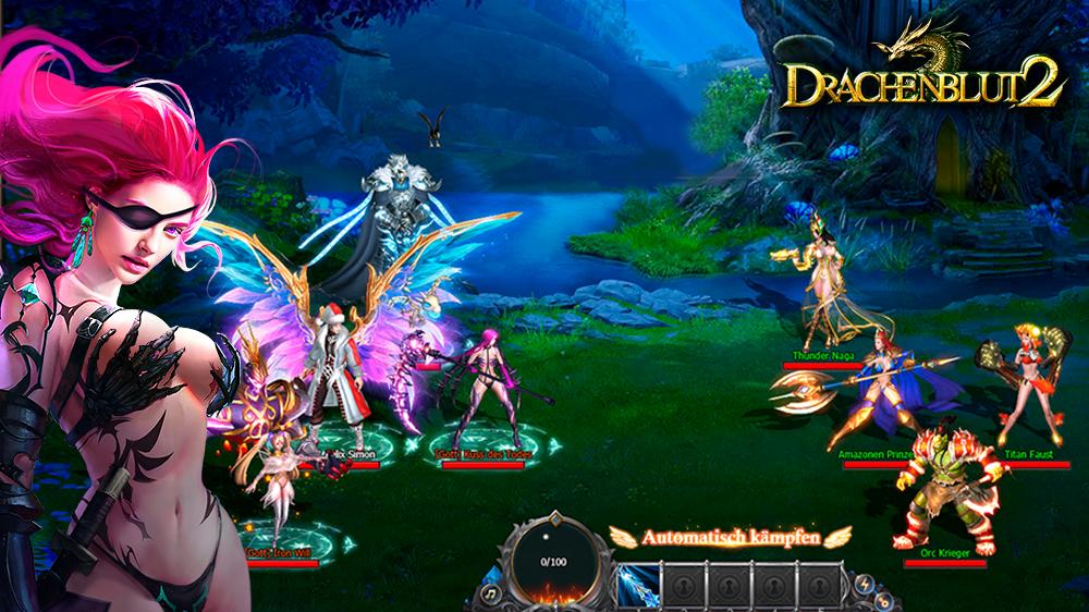 Drachenblut 2 Gameplay